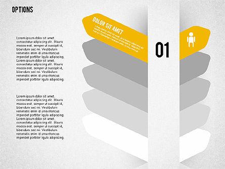Tilted Agenda Options, Slide 6, 02029, Stage Diagrams — PoweredTemplate.com