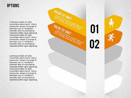 Tilted Agenda Options, Slide 7, 02029, Stage Diagrams — PoweredTemplate.com