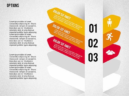 Tilted Agenda Options, Slide 8, 02029, Stage Diagrams — PoweredTemplate.com