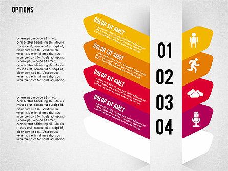 Tilted Agenda Options, Slide 9, 02029, Stage Diagrams — PoweredTemplate.com