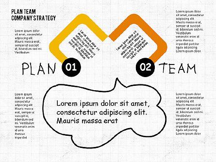 Plan Team Company Strategy Diagram, Slide 2, 02035, Business Models — PoweredTemplate.com