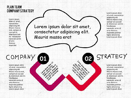 Plan Team Company Strategy Diagram, Slide 3, 02035, Business Models — PoweredTemplate.com