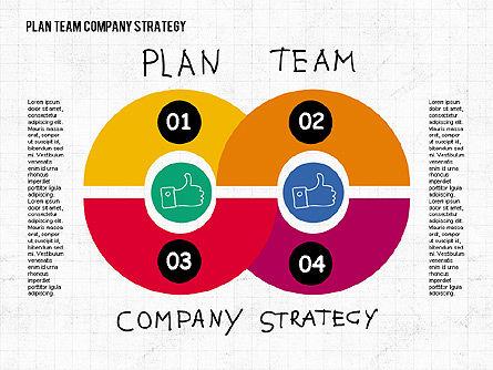 Plan Team Company Strategy Diagram, Slide 4, 02035, Business Models — PoweredTemplate.com