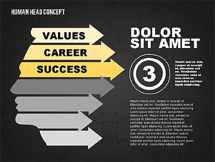 Head Concept, Slide 10, 02037, Business Models — PoweredTemplate.com