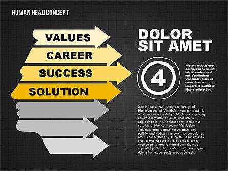 Head Concept, Slide 11, 02037, Business Models — PoweredTemplate.com