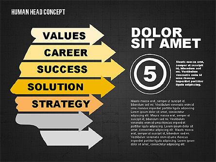 Head Concept, Slide 12, 02037, Business Models — PoweredTemplate.com