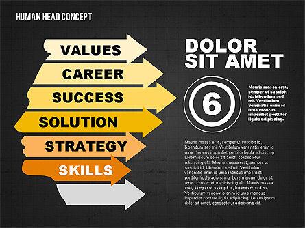 Head Concept, Slide 13, 02037, Business Models — PoweredTemplate.com