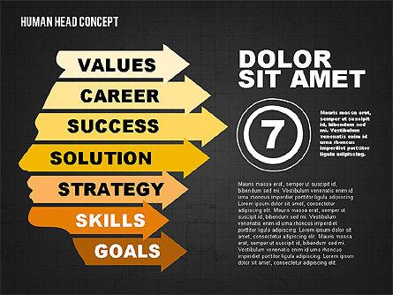 Head Concept, Slide 14, 02037, Business Models — PoweredTemplate.com