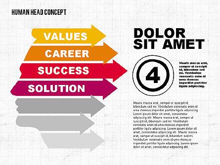 Head Concept, Slide 4, 02037, Business Models — PoweredTemplate.com