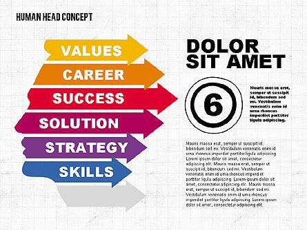 Head Concept, Slide 6, 02037, Business Models — PoweredTemplate.com
