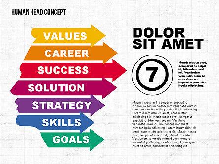 Head Concept, Slide 7, 02037, Business Models — PoweredTemplate.com