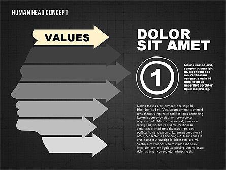 Head Concept, Slide 8, 02037, Business Models — PoweredTemplate.com