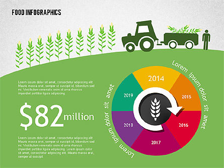 Infographics: Agriculture Infographics #02038