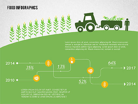 Agriculture Infographics , Slide 4, 02038, Infographics — PoweredTemplate.com
