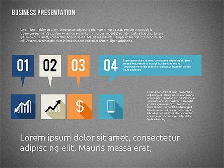 Business Presentation with Hints, Slide 10, 02042, Business Models — PoweredTemplate.com