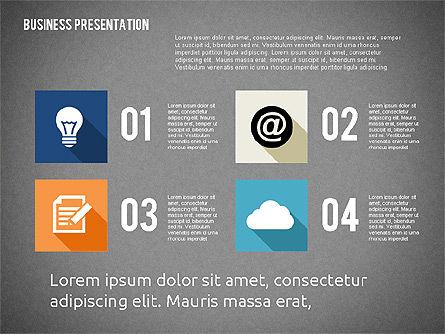 Business Presentation with Hints, Slide 15, 02042, Business Models — PoweredTemplate.com