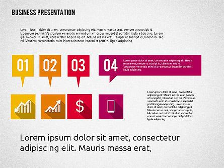 Business Presentation with Hints, Slide 2, 02042, Business Models — PoweredTemplate.com