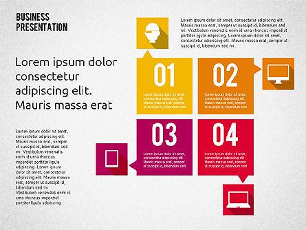 Business Presentation with Hints, Slide 3, 02042, Business Models — PoweredTemplate.com