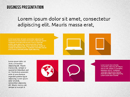 Business Presentation with Hints, Slide 8, 02042, Business Models — PoweredTemplate.com