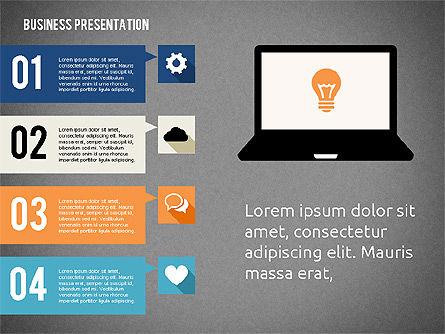 Business Presentation with Hints, Slide 9, 02042, Business Models — PoweredTemplate.com