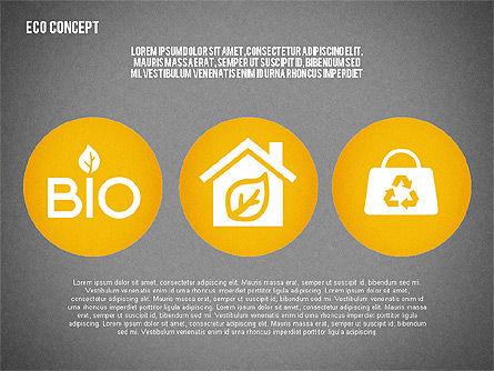 Ecology Environment Diagram, Slide 12, 02044, Business Models — PoweredTemplate.com