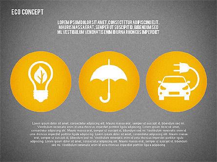 Ecology Environment Diagram, Slide 14, 02044, Business Models — PoweredTemplate.com