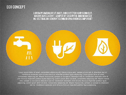 Ecology Environment Diagram, Slide 16, 02044, Business Models — PoweredTemplate.com
