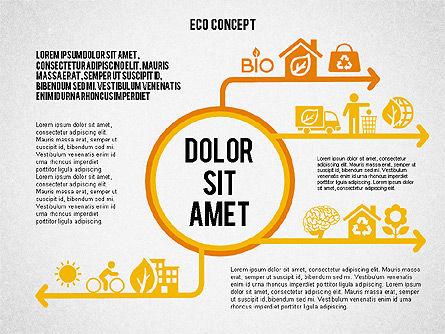 Ecology Environment Diagram, Slide 3, 02044, Business Models — PoweredTemplate.com