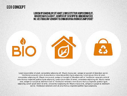Ecology Environment Diagram, Slide 4, 02044, Business Models — PoweredTemplate.com
