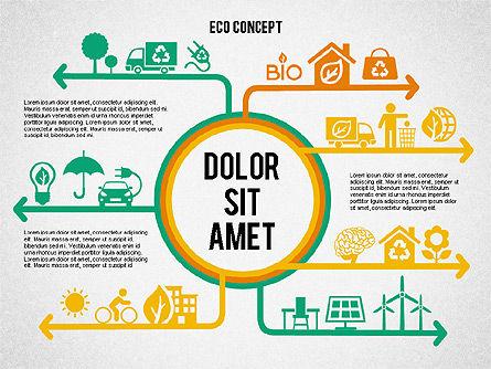 Ecology Environment Diagram, Slide 5, 02044, Business Models — PoweredTemplate.com