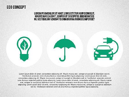 Ecology Environment Diagram, Slide 6, 02044, Business Models — PoweredTemplate.com
