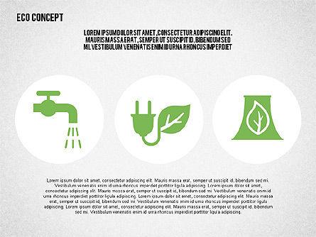 Ecology Environment Diagram, Slide 8, 02044, Business Models — PoweredTemplate.com
