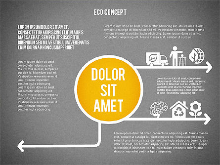Ecology Environment Diagram, Slide 9, 02044, Business Models — PoweredTemplate.com