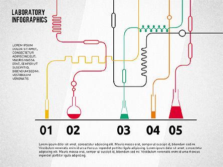 Hands-on Chemistry Diagram, Slide 4, 02045, Business Models — PoweredTemplate.com