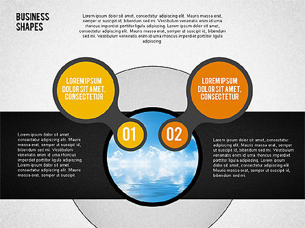 Circles with Numbers Stage Diagram Slide 3