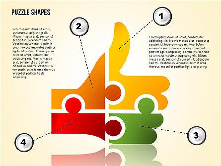Thumbs Up Puzzle, Slide 2, 02048, Puzzle Diagrams — PoweredTemplate.com