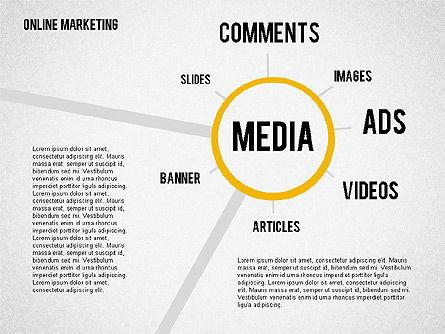 Online Marketing Presentation, Slide 2, 02056, Business Models — PoweredTemplate.com