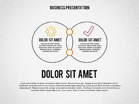 Business Presentation in Sketch Style, Slide 3, 02057, Business Models — PoweredTemplate.com