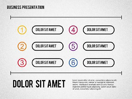 Business Presentation in Sketch Style, Slide 4, 02057, Business Models — PoweredTemplate.com
