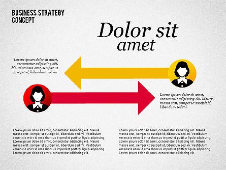 Business Relationship, 02065, Organizational Charts — PoweredTemplate.com