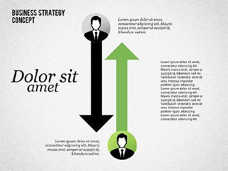 Business Relationship, Slide 3, 02065, Organizational Charts — PoweredTemplate.com