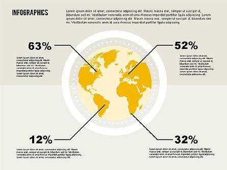 World Figures Infographics, Slide 4, 02066, Business Models — PoweredTemplate.com