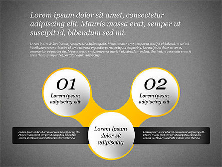 Presentation Template with Text Boxes, Slide 11, 02071, Business Models — PoweredTemplate.com