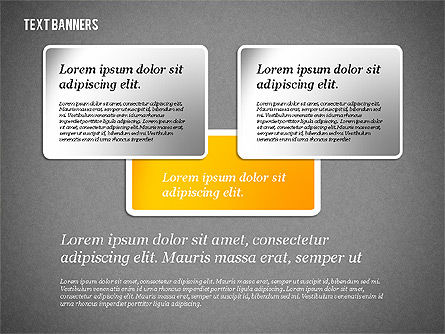 Presentation Template with Text Boxes, Slide 14, 02071, Business Models — PoweredTemplate.com