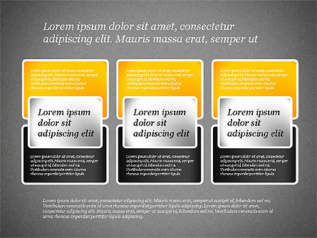 Presentation Template with Text Boxes, Slide 15, 02071, Business Models — PoweredTemplate.com