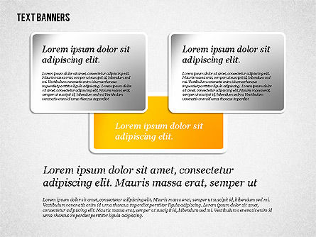 Presentation Template with Text Boxes, Slide 6, 02071, Business Models — PoweredTemplate.com