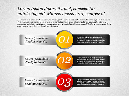 Presentation Template with Text Boxes, Slide 8, 02071, Business Models — PoweredTemplate.com