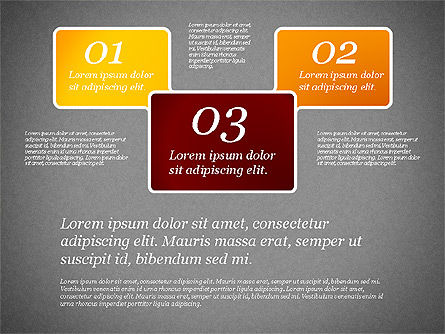 Presentation Template with Text Boxes, Slide 9, 02071, Business Models — PoweredTemplate.com