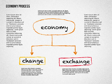 Presentation Templates: 경제 프리젠 테이션 개념 #02075