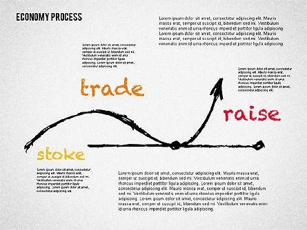 Economy Presentation Concept, Slide 2, 02075, Presentation Templates — PoweredTemplate.com